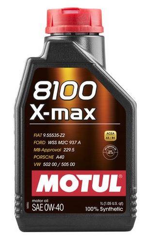 OLEJ 0W-40 8100 X-MAX MOTUL 1L 0W40 8100 X-MAX 1/MT