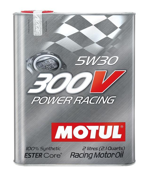 OLEJ 5W-30 300V POWER RACING MOTUL 2L 5W30 300V 2/MTU