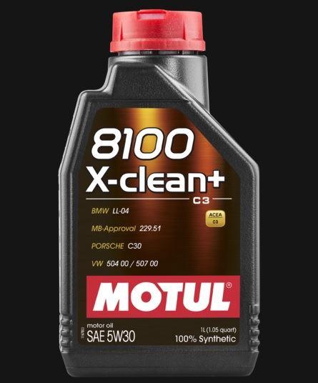 OLEJ 5W-30 8100 X-CLEAN+ MOTUL 1L 5W30 8100 X C3+ 1/MT