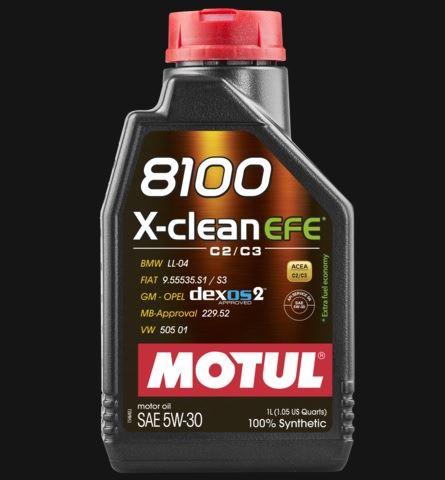 OLEJ 5W-30 8100 X-CLEAN EFE MOTUL 1L 5W30 8100 X EFE 1/MT