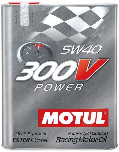 OLEJ 5W-40 300V POWER RACING MOTUL 2L 5W40 300V 2/MTU