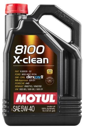 OLEJ 5W-40 8100 X-CLEAN MOTUL 5L