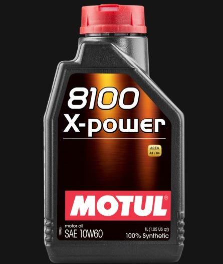 OLEJ 10W-60 8100 X-POWER MOTUL 1L MOTUL 10W60 8100 1L