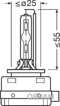 Żarówka, reflektor dalekosiężny OSRAM 66140XNL