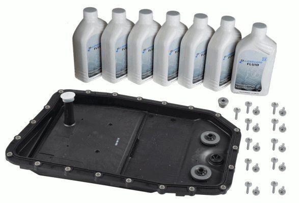 Zestaw części, wymiana oleju w automatycznej skrzyni biegów ZF 1068.298.062