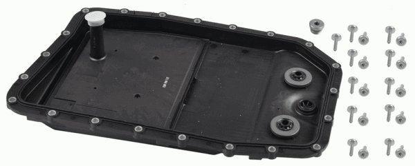 Zestaw części, wymiana oleju w automatycznej skrzyni biegów ZF 1068.298.083