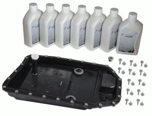 Zestaw części, wymiana oleju w automatycznej skrzyni biegów ZF 1071.298.033